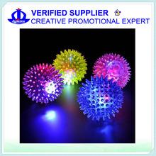 Light Up Flashing Spiky Ball / Bouncy Ball
