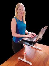 executive desk with left return