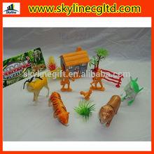 used hard animal toys animal farm set toys