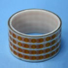 Top sale heat resistance die cut Polyimide Film Tape dots with competitive price