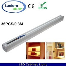 New products 2014 input AC220V Touch Dimming memory function wardrobe china cabinet light with 0.3m length CE&ROHS