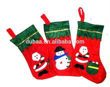 2014 Trendy Christmas Ornament - Non Woven Polyester Felt Christmas Stocking - Wholesale Christmas Decoration - OEM