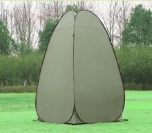 camadas simples e 210d tecido oxford spray de bronzeamento tenda