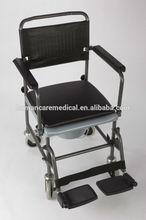 "Folding mobile commode chair-735pcs/40""HQ"