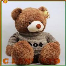 Plush Teddy Bear with T-shirt Stuffed Toy