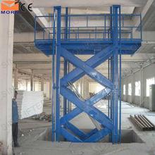 2t capacity stationary table lift mechanism