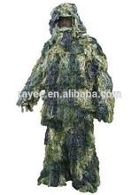 Ghillie suit/Camouflage suit/hunting clothing, bush camo / kamuflaj keskin nisanci ghillie takim elbise ,, camuflagem net