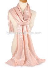 fashion shiny viscose scarf rayon shawl