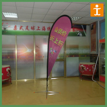 Flying Style and Polyeste Flags & Banners Material teardrop flag