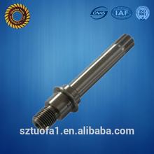 Precision steel pin , metal turning parts shaft