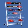 Customized metal cowboy hat rack for truck in display racks