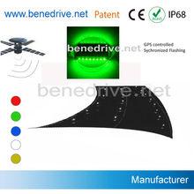 GPS controlled Solar Powered LED Marine Dock Light SRS0318GPS