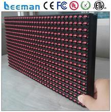 p10 module dvi red color RGB outdoor waterproof video led display