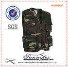 SUNNYTEX Hottest Custom OEM Multi Pocket camouflage fishing vest
