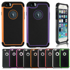 """Rugged Hybrid Armor Impact Hard Case Cover For Apple iPhone 6 4.7"""" 6 Plus 5.5"""""""