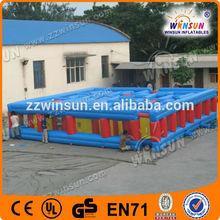 Comercial barato best seller crianças grandes labirinto inflável ao ar livre aluguel, Incrível labirinto