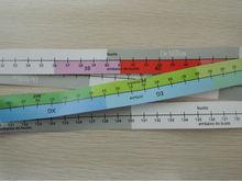 150CM/60inch colorful paper tape measure