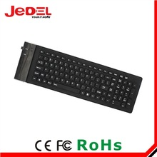 Colorful Multi language flexible keyboard for laptop