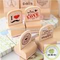 Moda diseño sello perfecto como de juguete y regalo / la estampilla de madera como juguetes para niños