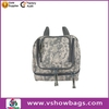 New fashion design promotional 600d toiletry bags travel hanging toiletry bag