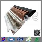 building industry shower door weather strip/jiangyin huayuan epdm rubber products for door window