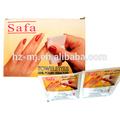 Spunlace matériel et ménages nail polish remover lingettes humides