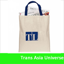Hot Selling Promotional custom canvas bag shopping