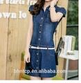 Bhnb9828 moda casual vestidos con la correa stock disponible diferentes tipos de vestidos