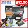 NEW cae light HID Kits, H1 H3 H7 H8 H9 H10 H11 H13 90049005 9006 9007 D2S D2C D2R 880 881 hid headlight