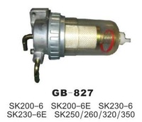 Kobelco excavator oil and water separator SK200-6 SK200-6E SK230-6