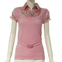 New arrival popular ladies blouse manufacturing