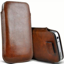 PU Leather Pouch/Sleeve Bag/Pull Tab Cases for iphone 6