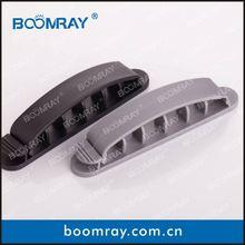 10 pcs high qulity black/grey OEM plastic multipurpose kitchen cabinet plate holders