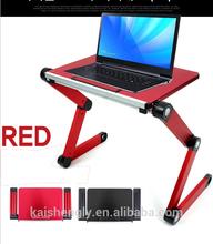 Colorful portable foldable laptop desk table