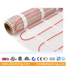 150w/m2 200w/m2 Dual conductors bathroom floor heat systems