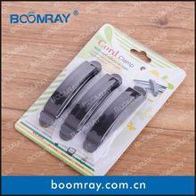 10 pcs high qulity black/grey OEM plastic multipurpose desk pen holder
