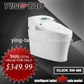 Artículos de higiene o baño de cerámica inodoro inteligente bidé combo