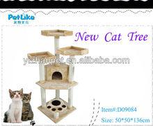Easy Assemble Luxury Sisal Cat Tree House