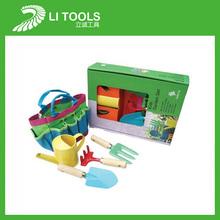 7 pcs mini outil de jardin enfants boîte de jeu