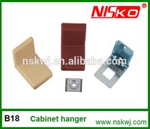 kitchen cabinet hanging bracket