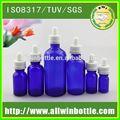 1oz botella de vidrio boston ronda de botella de vidrio con pipeta de vidrio cuentagotas proveedor de china