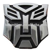 High Quality Plastic chrome custom car emblem