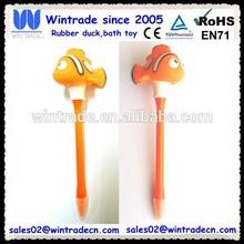 PVC orange clown fish pen/Novelty fish shape led pen