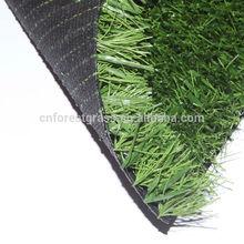 55mm PE Football Artificial Grass , Green Futsal Synthetic Lawn