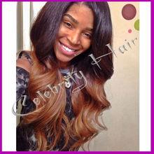 Peruvian front lace wig hair superior wigs silk human hair body wave #1b/6 silk base virgin hair for black women