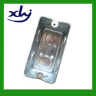 "4""x2"" south and north America standard tin-based rectangular metal switch box"