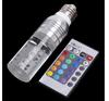 1W 3W 16 Color changing Crystal e27 rgb led bulb warm white