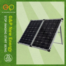 GP 160W Mono Foldable solar panel in high module eficiency for solar roll