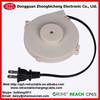 Custom plug single side retractable power cords for small home appliance