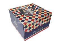 Guangzhou Cake Box with handle Custom design Paper Packaging